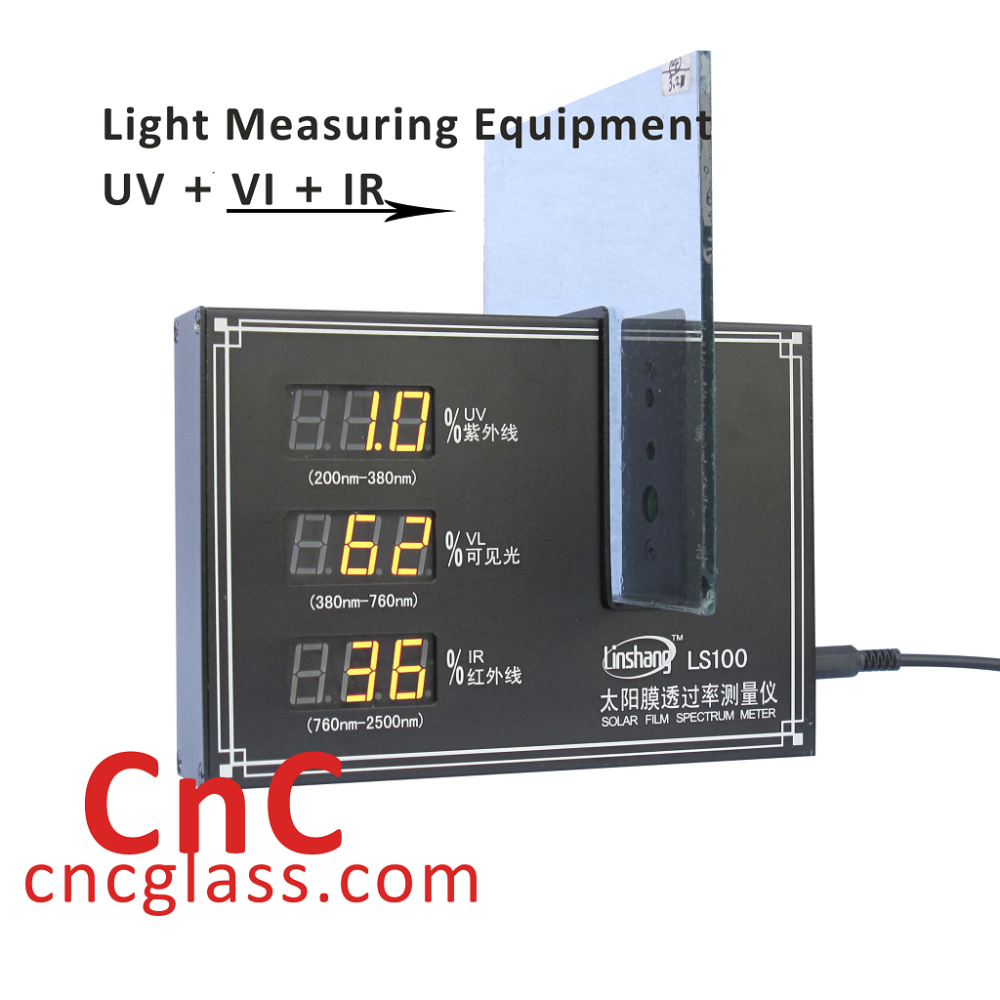 Light Measuring Equipment UV + VI + IR