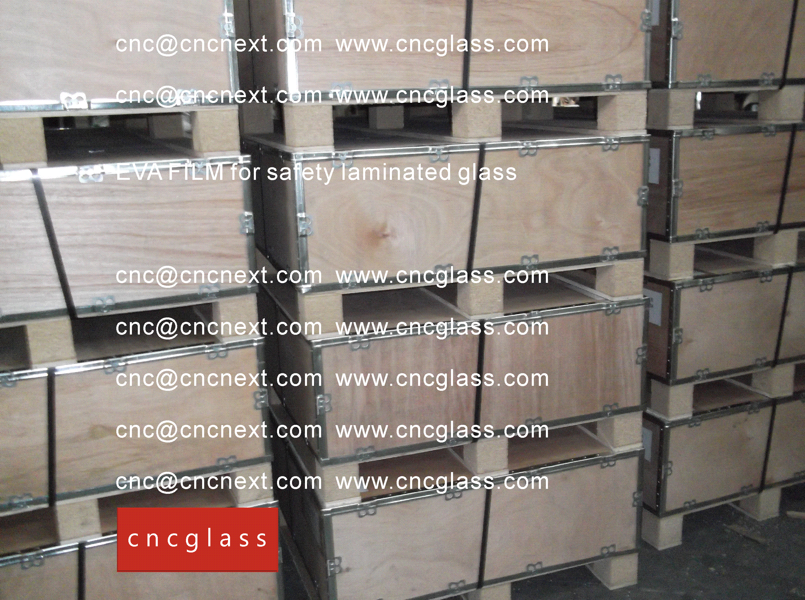 00 EVALAM INATING FILM LOADING CONTAINER (SAFETY LAMINATED GLASS)