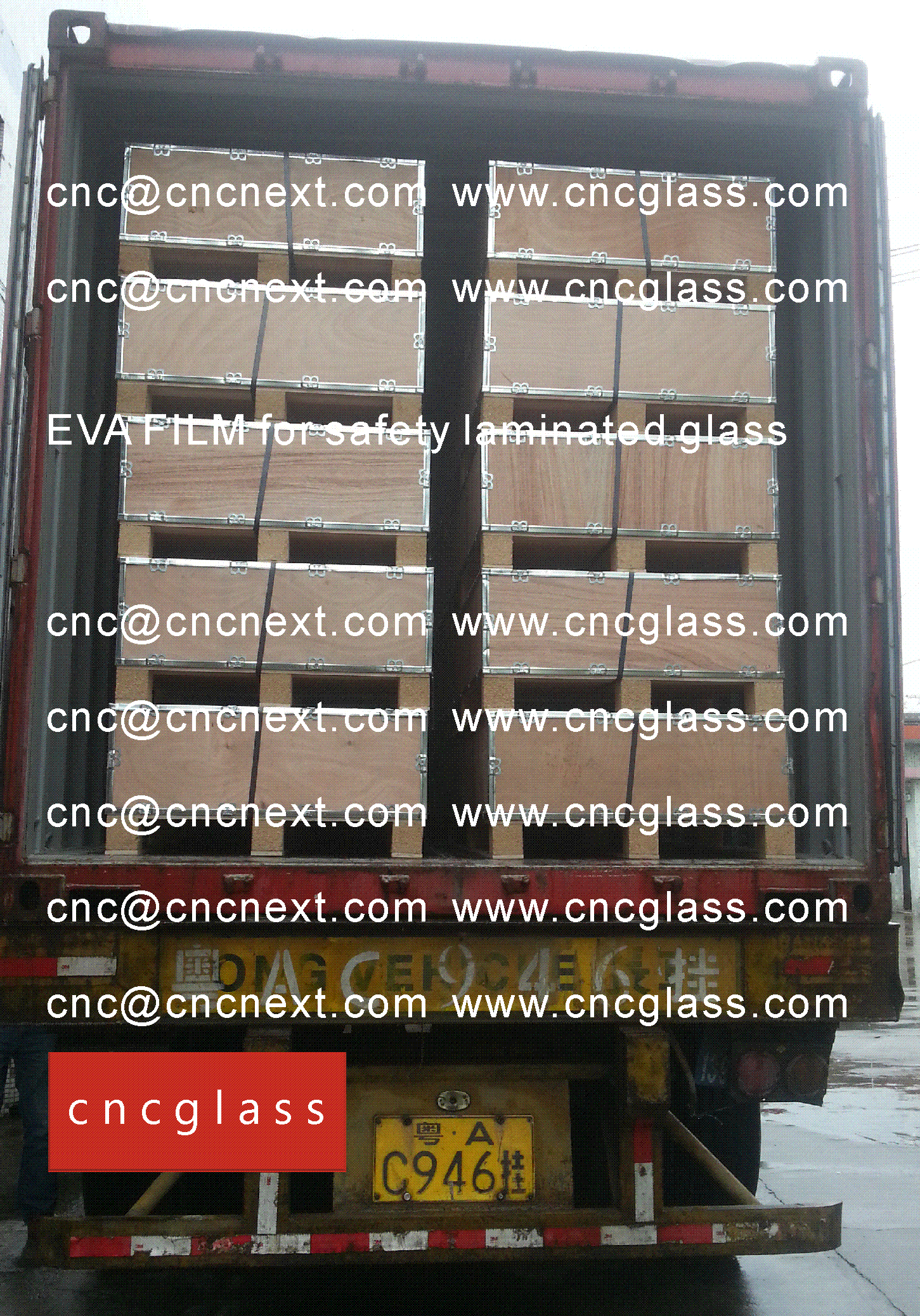 02 EVALAM INATING FILM LOADING CONTAINER (SAFETY LAMINATED GLASS)