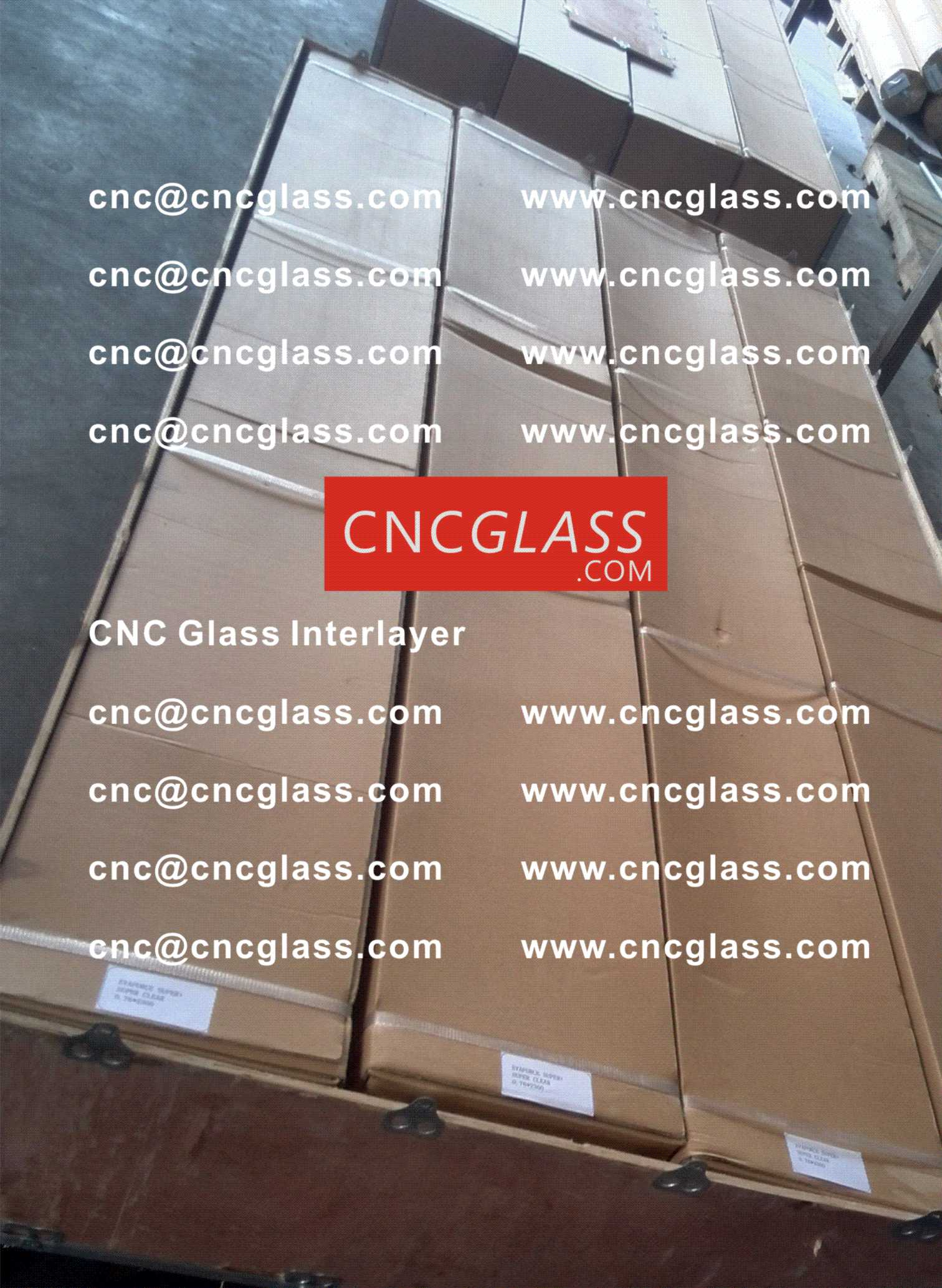 004 CNC Glass Interlayer EVA Film for Safety Laminated Glass