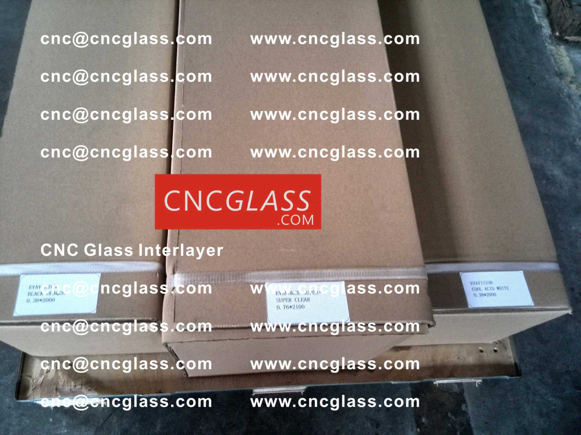 006 CNC Glass Interlayer EVA Film for Safety Laminated Glass