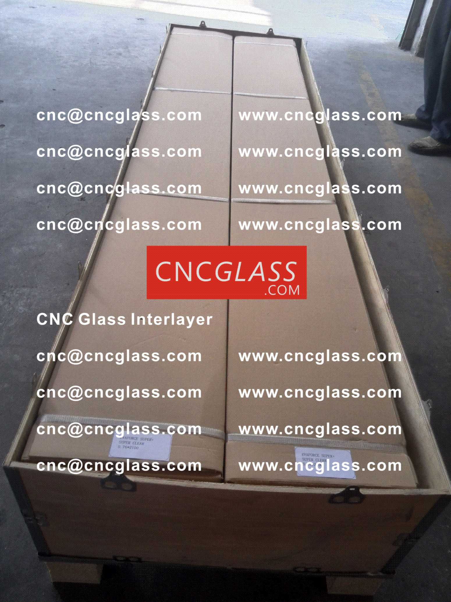 009 CNC Glass Interlayer EVA Film for Safety Laminated Glass