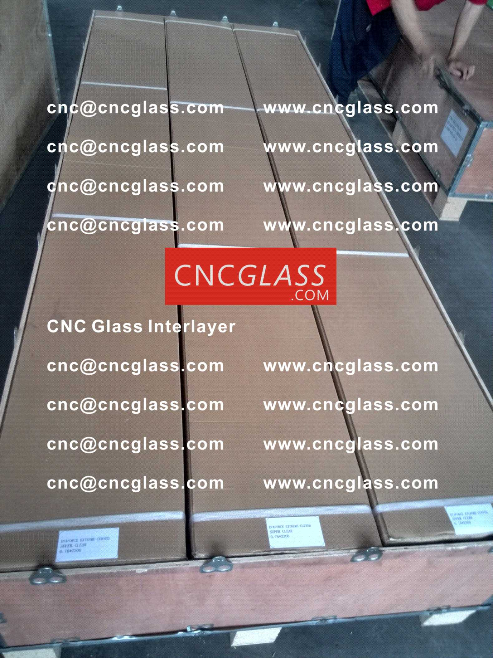 011 CNC Glass Interlayer EVA Film for Safety Laminated Glass