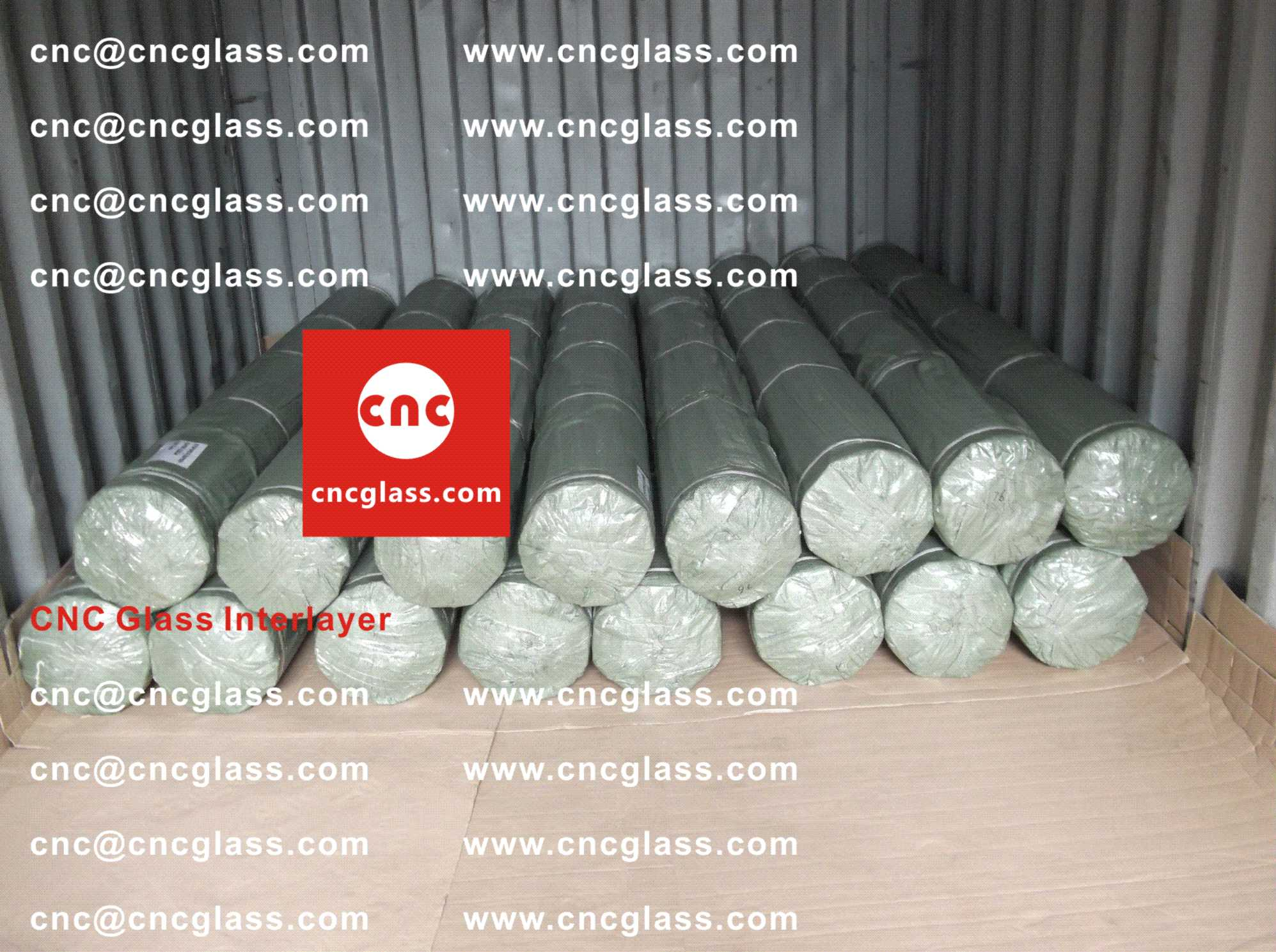 002 Packing Loading EVA Interlayer Film for Safety Laminated Glazing