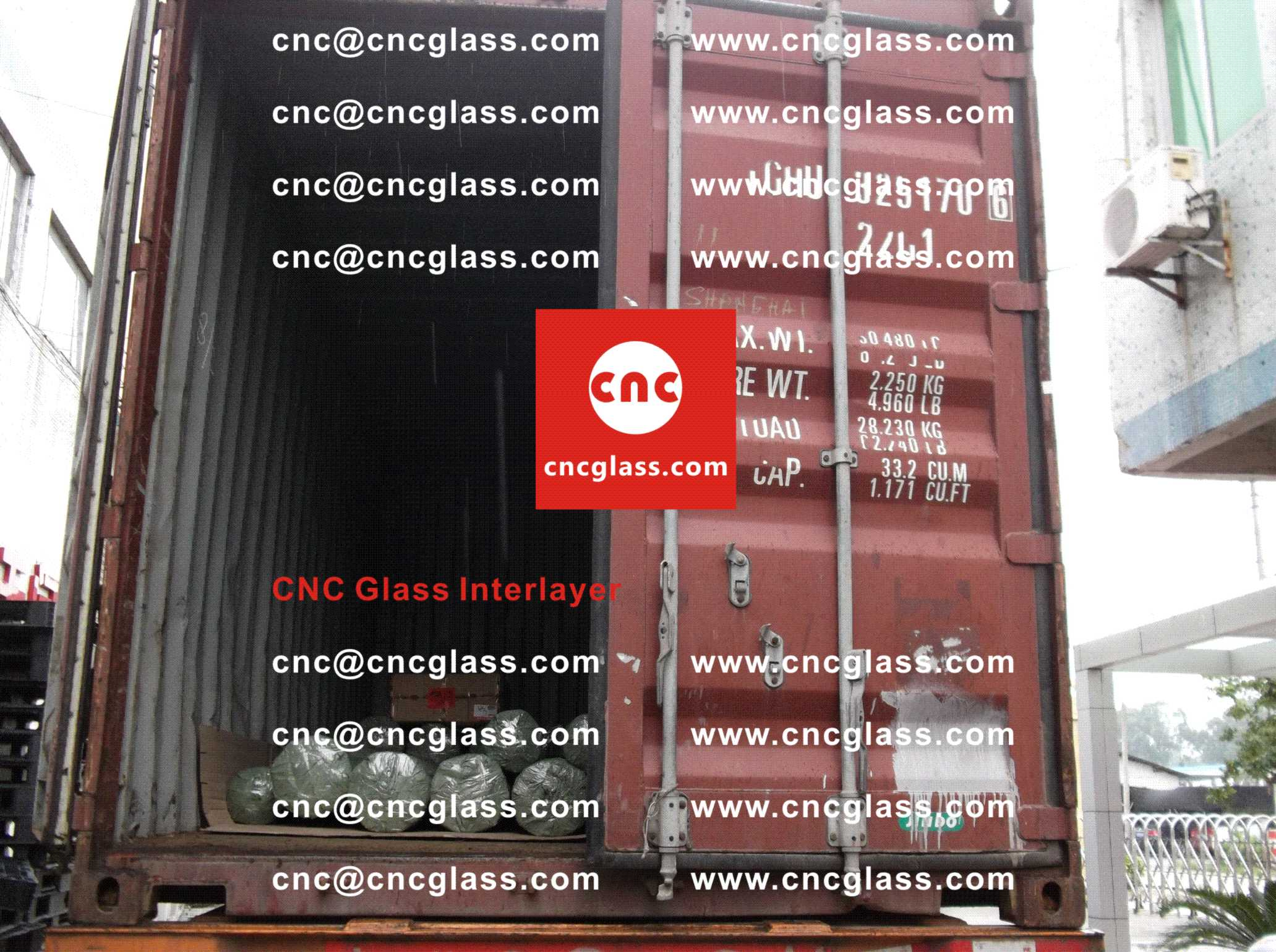 007 Packing Loading EVA Interlayer Film for Safety Laminated Glazing