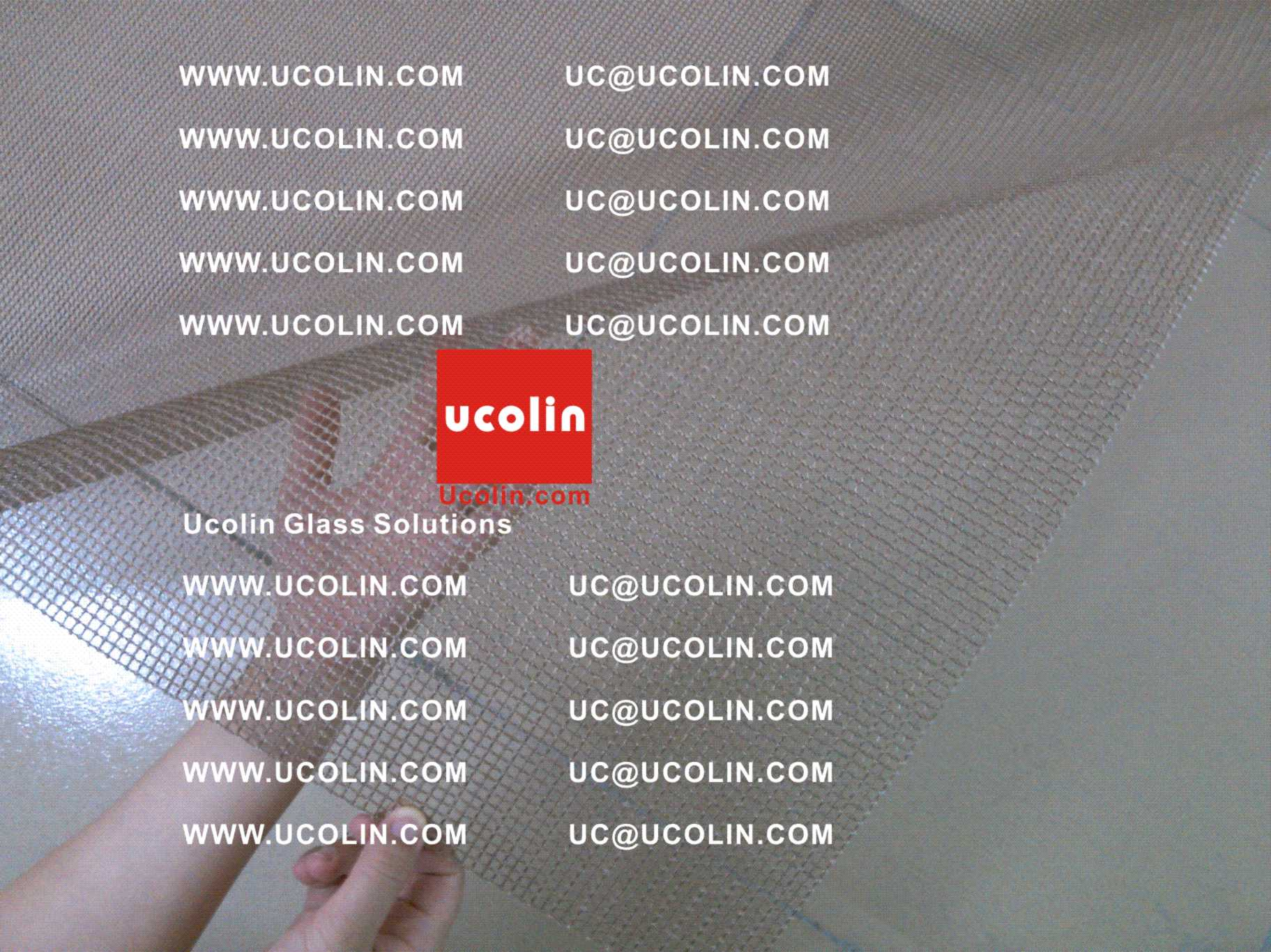 020 Teflon Glassfiber Mesh for silicone Vacuum Bag in EVA Film safety glass laminating vacuuming