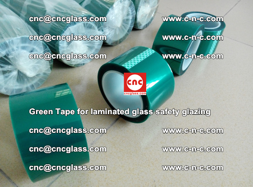 Green Tape for laminated glass safety glazing, EVA FILM, PVB FILM, SGP INTERLAYER (10)