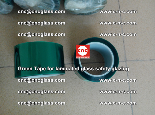 Green Tape for laminated glass safety glazing, EVA FILM, PVB FILM, SGP INTERLAYER (14)