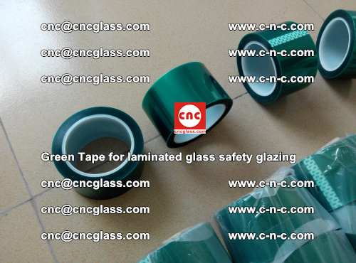Green Tape for laminated glass safety glazing, EVA FILM, PVB FILM, SGP INTERLAYER (17)