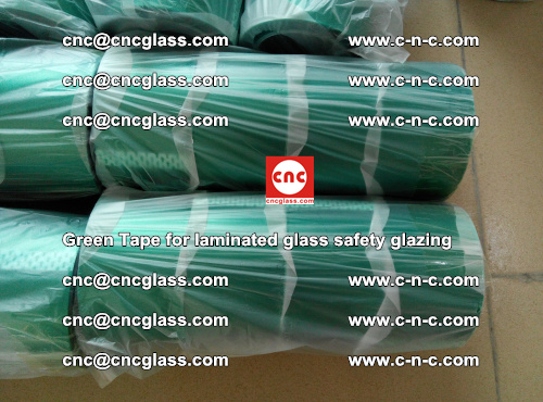 Green Tape for laminated glass safety glazing, EVA FILM, PVB FILM, SGP INTERLAYER (19)