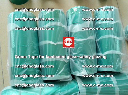 Green Tape for laminated glass safety glazing, EVA FILM, PVB FILM, SGP INTERLAYER (23)