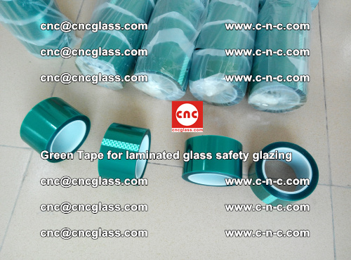 Green Tape for laminated glass safety glazing, EVA FILM, PVB FILM, SGP INTERLAYER (28)