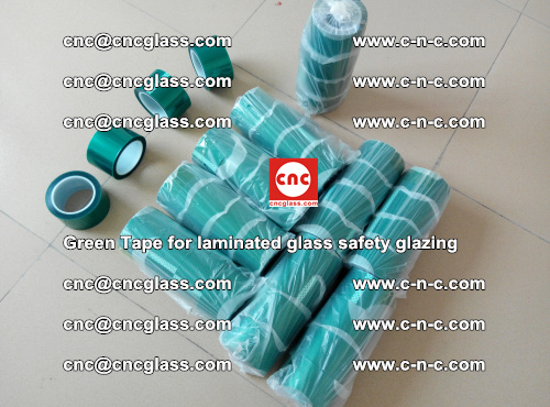 Green Tape for laminated glass safety glazing, EVA FILM, PVB FILM, SGP INTERLAYER (3)