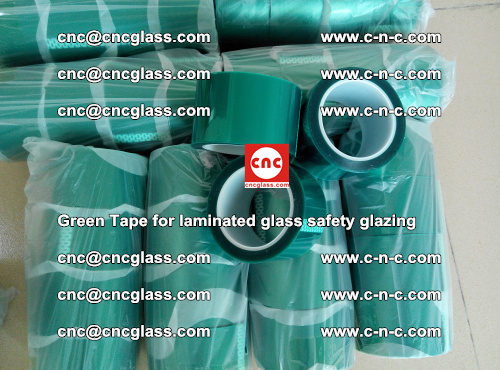 Green Tape for laminated glass safety glazing, EVA FILM, PVB FILM, SGP INTERLAYER (37)
