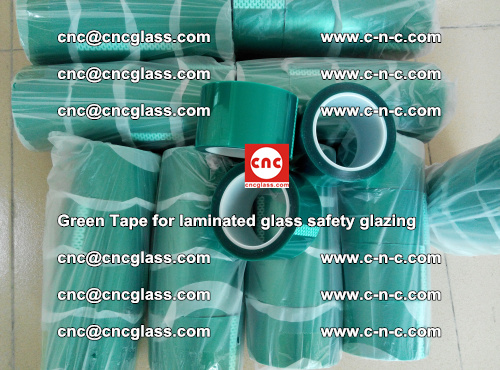 Green Tape for laminated glass safety glazing, EVA FILM, PVB FILM, SGP INTERLAYER (38)