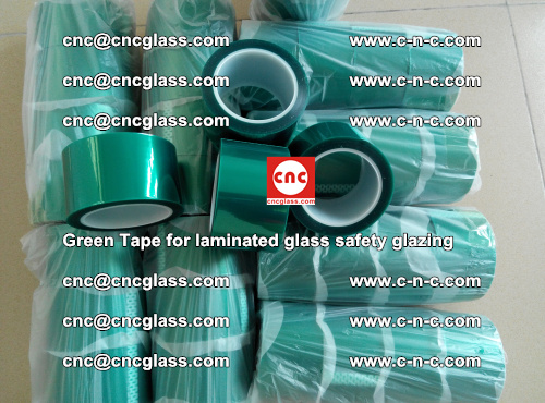 Green Tape for laminated glass safety glazing, EVA FILM, PVB FILM, SGP INTERLAYER (39)