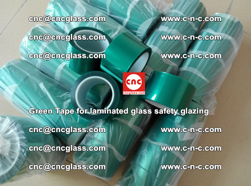 Green Tape for laminated glass safety glazing, EVA FILM, PVB FILM, SGP INTERLAYER (45)