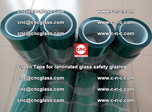 Green Tape for laminated glass safety glazing, EVA FILM, PVB FILM, SGP INTERLAYER (46)
