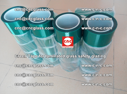 Green Tape for laminated glass safety glazing, EVA FILM, PVB FILM, SGP INTERLAYER (52)