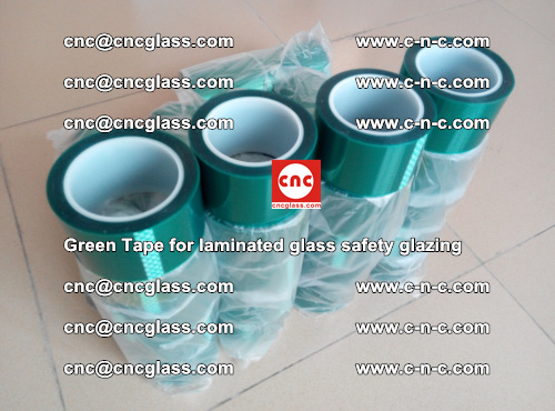 Green Tape for laminated glass safety glazing, EVA FILM, PVB FILM, SGP INTERLAYER (56)