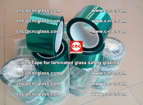 Green Tape for laminated glass safety glazing, EVA FILM, PVB FILM, SGP INTERLAYER (59)