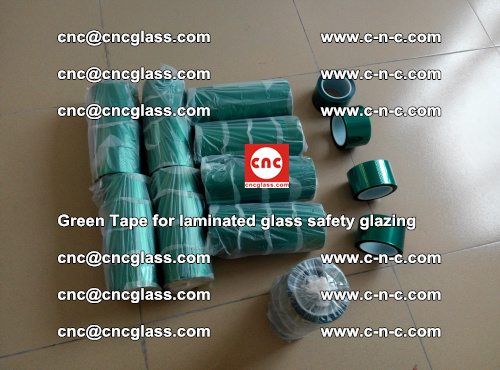 Green Tape for laminated glass safety glazing, EVA FILM, PVB FILM, SGP INTERLAYER (6)