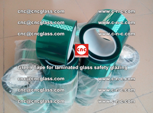 Green Tape for laminated glass safety glazing, EVA FILM, PVB FILM, SGP INTERLAYER (60)