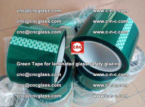 Green Tape for laminated glass safety glazing, EVA FILM, PVB FILM, SGP INTERLAYER (66)