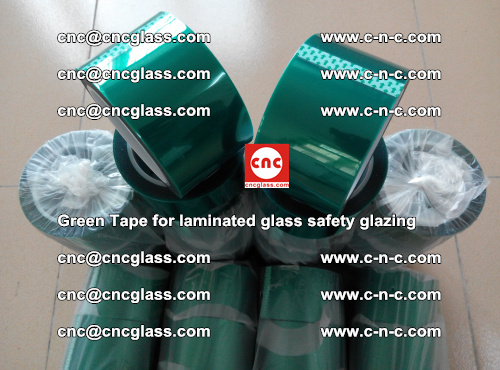 Green Tape for laminated glass safety glazing, EVA FILM, PVB FILM, SGP INTERLAYER (67)