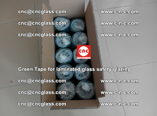 Green Tape for laminated glass safety glazing, EVA FILM, PVB FILM, SGP INTERLAYER (76)