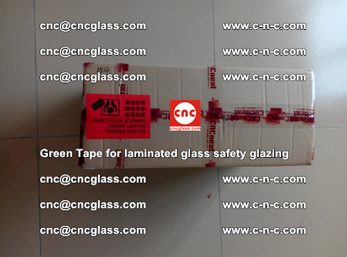 Green Tape for laminated glass safety glazing, EVA FILM, PVB FILM, SGP INTERLAYER (82)