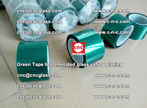 Green Tape for laminated glass safety glazing, EVA FILM, PVB FILM, SGP INTERLAYER (9)