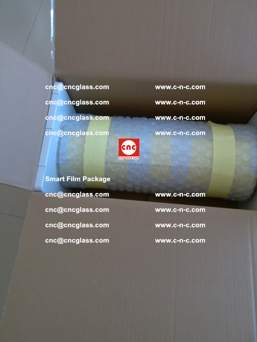 Package of Smart film, Smart glass film, Privacy glass film (6)