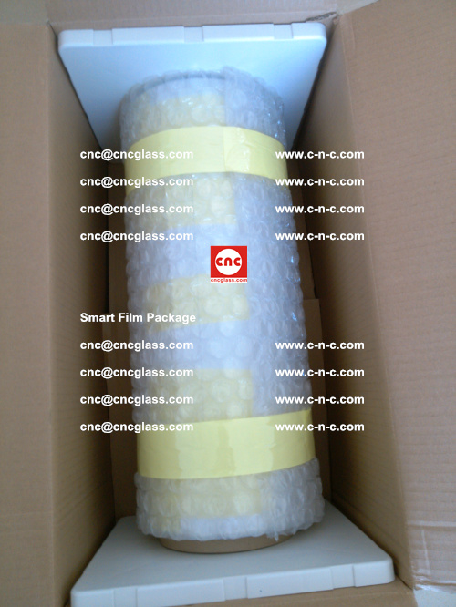 Package of Smart film, Smart glass film, Privacy glass film (7)