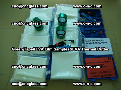 PET GREEN TAPE, EVAFORCE FILM SAMPLES, EVA THERMAL CUTTER (11)