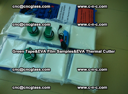 PET GREEN TAPE, EVAFORCE FILM SAMPLES, EVA THERMAL CUTTER (14)