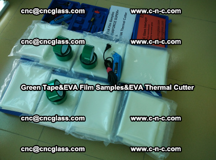 PET GREEN TAPE, EVAFORCE FILM SAMPLES, EVA THERMAL CUTTER (16)