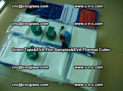 PET GREEN TAPE, EVAFORCE FILM SAMPLES, EVA THERMAL CUTTER (21)