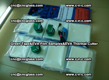 PET GREEN TAPE, EVAFORCE FILM SAMPLES, EVA THERMAL CUTTER (23)