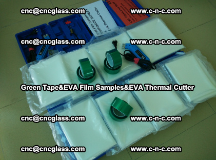 PET GREEN TAPE, EVAFORCE FILM SAMPLES, EVA THERMAL CUTTER (28)