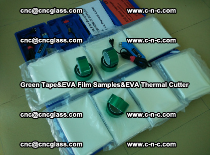 PET GREEN TAPE, EVAFORCE FILM SAMPLES, EVA THERMAL CUTTER (29)