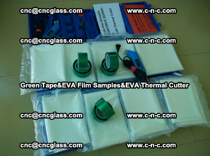 PET GREEN TAPE, EVAFORCE FILM SAMPLES, EVA THERMAL CUTTER (31)