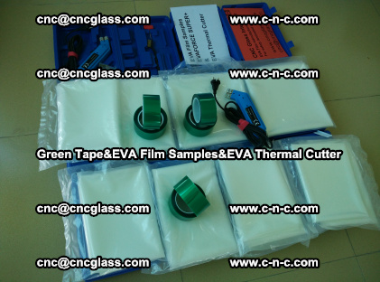 PET GREEN TAPE, EVAFORCE FILM SAMPLES, EVA THERMAL CUTTER (32)
