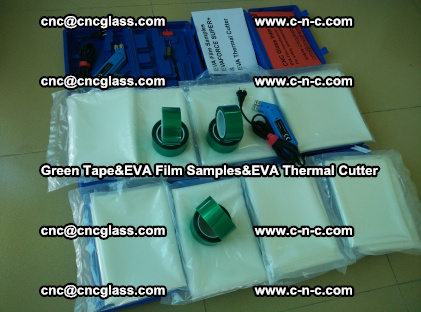 PET GREEN TAPE, EVAFORCE FILM SAMPLES, EVA THERMAL CUTTER (34)