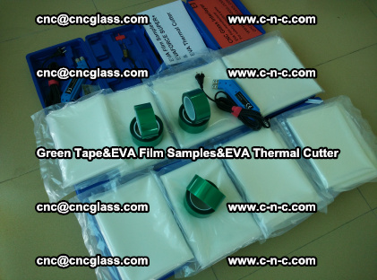 PET GREEN TAPE, EVAFORCE FILM SAMPLES, EVA THERMAL CUTTER (37)