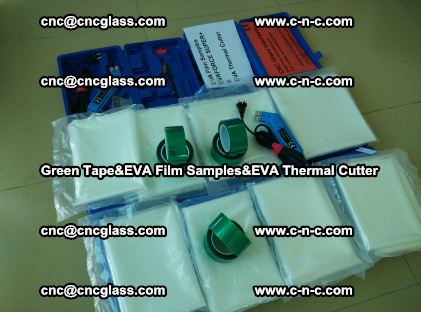PET GREEN TAPE, EVAFORCE FILM SAMPLES, EVA THERMAL CUTTER (39)