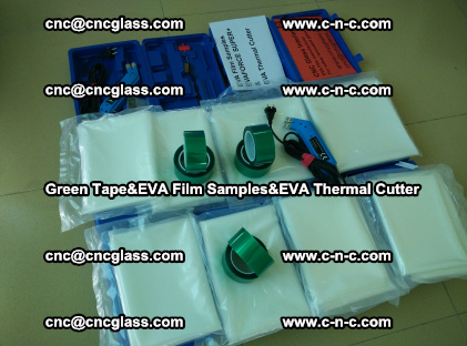 PET GREEN TAPE, EVAFORCE FILM SAMPLES, EVA THERMAL CUTTER (42)