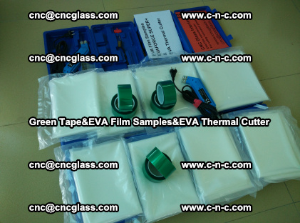 PET GREEN TAPE, EVAFORCE FILM SAMPLES, EVA THERMAL CUTTER (43)