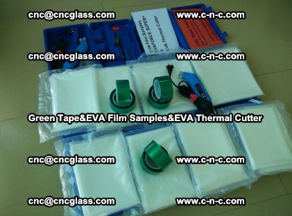 PET GREEN TAPE, EVAFORCE FILM SAMPLES, EVA THERMAL CUTTER (44)