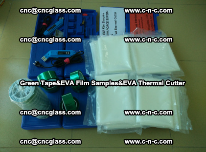 PET GREEN TAPE, EVAFORCE FILM SAMPLES, EVA THERMAL CUTTER (48)